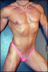 Male chastity slave fem style vagina look swimsuit by koalaswim.com